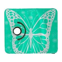 Butterfly Cut Out Flowers Galaxy S3 (Flip/Folio)