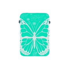 Butterfly Cut Out Flowers Apple iPad Mini Protective Soft Cases
