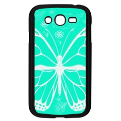 Butterfly Cut Out Flowers Samsung Galaxy Grand DUOS I9082 Case (Black)