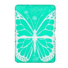Butterfly Cut Out Flowers Samsung Galaxy Tab 2 (10.1 ) P5100 Hardshell Case