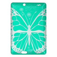 Butterfly Cut Out Flowers Amazon Kindle Fire HD (2013) Hardshell Case