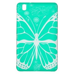 Butterfly Cut Out Flowers Samsung Galaxy Tab Pro 8.4 Hardshell Case