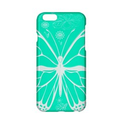 Butterfly Cut Out Flowers Apple iPhone 6/6S Hardshell Case