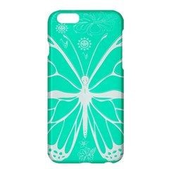 Butterfly Cut Out Flowers Apple iPhone 6 Plus/6S Plus Hardshell Case