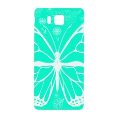 Butterfly Cut Out Flowers Samsung Galaxy Alpha Hardshell Back Case