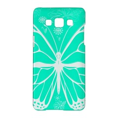 Butterfly Cut Out Flowers Samsung Galaxy A5 Hardshell Case