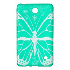 Butterfly Cut Out Flowers Samsung Galaxy Tab 4 (7 ) Hardshell Case