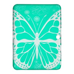 Butterfly Cut Out Flowers Samsung Galaxy Tab 4 (10 1 ) Hardshell Case