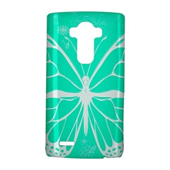 Butterfly Cut Out Flowers Lg G4 Hardshell Case