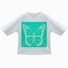 Butterfly Cut Out Flowers Infant/toddler T Shirts