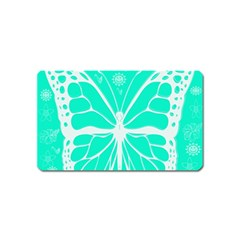 Butterfly Cut Out Flowers Magnet (name Card)