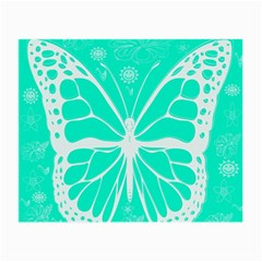 Butterfly Cut Out Flowers Small Glasses Cloth (2-Side)
