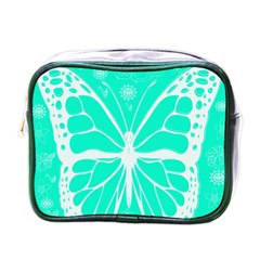 Butterfly Cut Out Flowers Mini Toiletries Bags