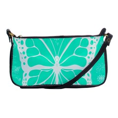 Butterfly Cut Out Flowers Shoulder Clutch Bags