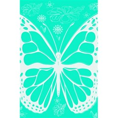 Butterfly Cut Out Flowers 5 5  X 8 5  Notebooks