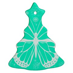 Butterfly Cut Out Flowers Ornament (Christmas Tree)