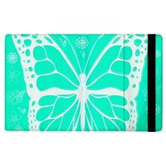 Butterfly Cut Out Flowers Apple iPad 3/4 Flip Case