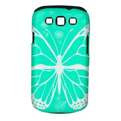 Butterfly Cut Out Flowers Samsung Galaxy S III Classic Hardshell Case (PC+Silicone)