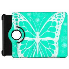 Butterfly Cut Out Flowers Kindle Fire HD 7