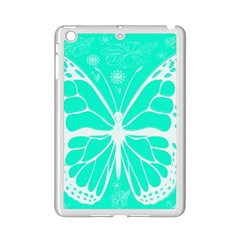 Butterfly Cut Out Flowers iPad Mini 2 Enamel Coated Cases