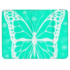 Butterfly Cut Out Flowers Samsung Galaxy Tab 7  P1000 Flip Case