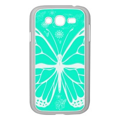 Butterfly Cut Out Flowers Samsung Galaxy Grand DUOS I9082 Case (White)
