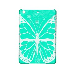 Butterfly Cut Out Flowers iPad Mini 2 Hardshell Cases