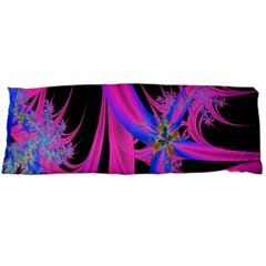Fractal In Bright Pink And Blue Body Pillow Case Dakimakura (Two Sides)