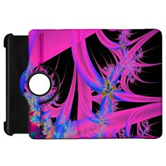 Fractal In Bright Pink And Blue Kindle Fire HD 7