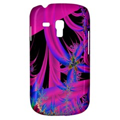 Fractal In Bright Pink And Blue Galaxy S3 Mini
