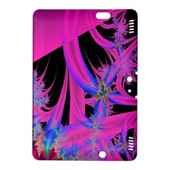 Fractal In Bright Pink And Blue Kindle Fire HDX 8.9  Hardshell Case
