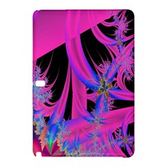 Fractal In Bright Pink And Blue Samsung Galaxy Tab Pro 10.1 Hardshell Case