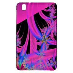 Fractal In Bright Pink And Blue Samsung Galaxy Tab Pro 8.4 Hardshell Case