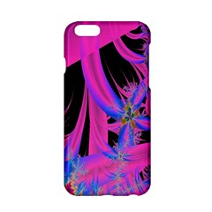 Fractal In Bright Pink And Blue Apple Iphone 6/6s Hardshell Case