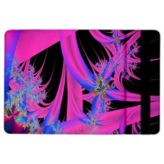 Fractal In Bright Pink And Blue Ipad Air 2 Flip