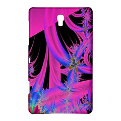 Fractal In Bright Pink And Blue Samsung Galaxy Tab S (8 4 ) Hardshell Case