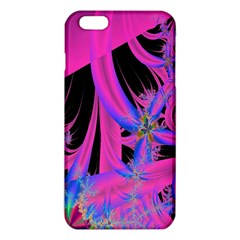 Fractal In Bright Pink And Blue iPhone 6 Plus/6S Plus TPU Case