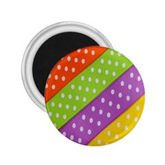 Colorful Easter Ribbon Background 2 25  Magnets