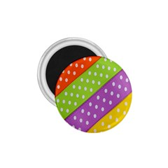Colorful Easter Ribbon Background 1 75  Magnets