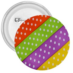 Colorful Easter Ribbon Background 3  Buttons