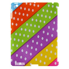 Colorful Easter Ribbon Background Apple iPad 3/4 Hardshell Case (Compatible with Smart Cover)