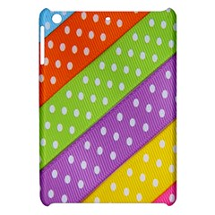 Colorful Easter Ribbon Background Apple Ipad Mini Hardshell Case