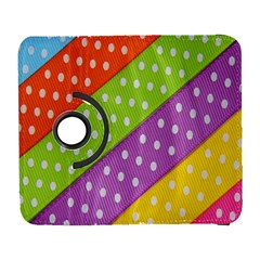 Colorful Easter Ribbon Background Galaxy S3 (Flip/Folio)