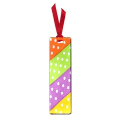 Colorful Easter Ribbon Background Small Book Marks