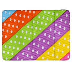 Colorful Easter Ribbon Background Samsung Galaxy Tab 7  P1000 Flip Case