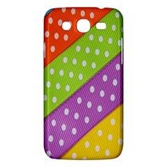 Colorful Easter Ribbon Background Samsung Galaxy Mega 5.8 I9152 Hardshell Case