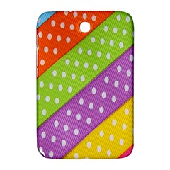 Colorful Easter Ribbon Background Samsung Galaxy Note 8 0 N5100 Hardshell Case