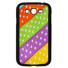 Colorful Easter Ribbon Background Samsung Galaxy Grand DUOS I9082 Case (Black)