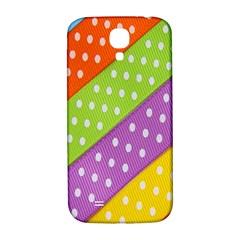 Colorful Easter Ribbon Background Samsung Galaxy S4 I9500/I9505  Hardshell Back Case