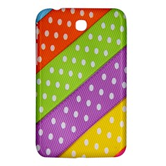 Colorful Easter Ribbon Background Samsung Galaxy Tab 3 (7 ) P3200 Hardshell Case